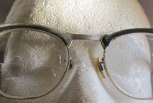 Vintage Eyeglass Frames / by Vintage Mama