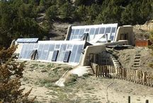 Earthship Ideas / My future home / by Julie Reinking