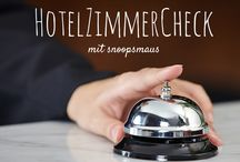 HotelZimmerCheck / Teste Hotelzimmer und Hotels weltweit.   Tests of hotels and hotel rooms worldwide. / by Romy Mlinzk | snoopsmaus