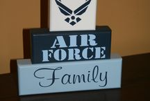 Air Force Wife<3 / by Melissa Coulter