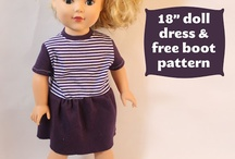 sew: american girl / by Reb Thack
