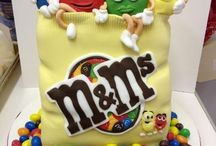 Food themed cake / by Cake Decorating