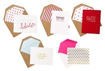 Inspiration // Stationary / by Paige Ray