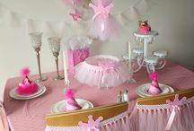 Party ideas for little girls / by Sheila Jennings Primeau