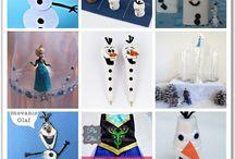 Frozen / by Pamela Bounting Sherrodd
