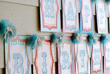 Vintage Circus Party / by Ellen Jay Stylish Events + Sweets