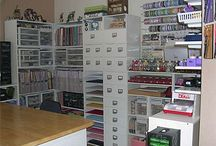 House---Sewing space ideas / by Cheryl Rader