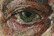 Thread Drawing / Human Form artworks using thread / by F. H.
