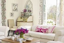 Shabby Chic Lvg Rm / by Pam Taylor