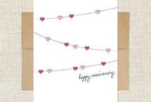 Anniversary cards / by Jean Nunnally