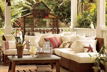 Relax...porches and patios / by Linda Nebrig