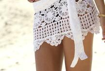 vestidos de baño crochet / by Gloria Gomez