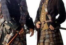 Scotland military kilt / by Kedra Fairley