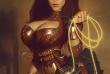 Steampunk Wonder Woman inspiration / by Molly McIsaac