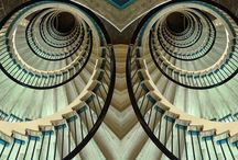 Stairs, staircases and stairwells / by Dorienne Rogers