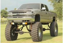 Lifted trucks(: / by alexis wells