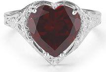 Garnet Jewelry / by ApplesofGold.com