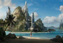 science fiction / fantasy / by Sarah Arrow