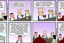 "Daily Dose of SFW Comic Relief / Business is a serious business. :) This is some ""safe-for-work"" comic relief to remind you that business can be fun, too!  / by RingCentral"