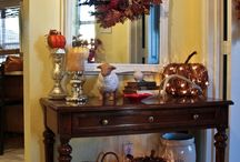 Autumn Home Inspiration / Autumn home design that inspires us! / by Owens Flower Shop