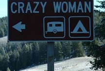 On the road again, RV's and camping / by Cheryl Webb