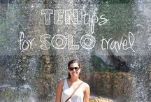 Solo Travel / by Alex in Wanderland