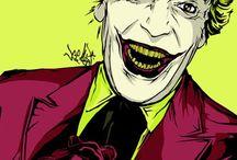 The Joker / I like the Joker, not particularly Batman haha / by Lindsey