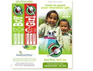 Free Promotional Materials / Need promotional materials for your church, school, business, or organization? You can find everything-from videos,brochures, posters, and church bulletin inserts here! / by Operation Christmas Child