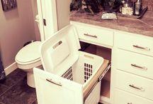 Build bathroom one day / by Jessica Hamblin