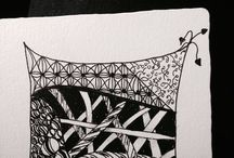 ZENTANGLE / Mindful patterns / by Marianne Eberle