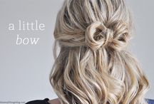 Hairstyle Tutorials from The Small Things Blog / all the tutorials that can be found on my blog / by Kate Bryan