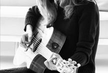 Guitars and people who play them / by Denise Oakley