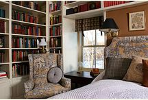Library Bedroom Ideas / by Sandra Moyes