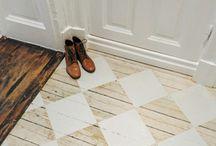 Floors / Floor alternative / by Evelyn Smith