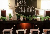 Winter wedding white and silver / Baby it's cold outside winter wedding. / by Amber Woodall