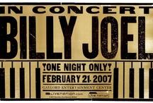 Billy Joel: Piano Man, Big Shot, Downtown Man that I love! / by Diana Ayotte