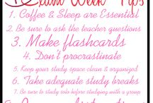 Study Tips and Tricks  / by Sewanee Residential Life