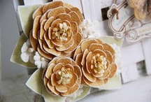 flowers, flowers, flowers / from paper to fabric, how to / by Maria Getz