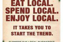 shop local / by Ingrid Landis