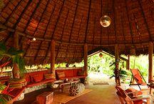 Tropical Architecture at #Finca Exotica ecolodge / Good ideas for #tropical #architecture in the jungle of Costa Rica / by Finca Exotica Eco lodge