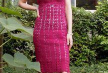 crochet dress / by Tiffany Scott
