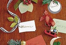Gift Tags, Cards & Wrapping / by Liz Geisert Kirk