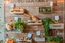 Farm to Table Inspiration / A wedding inspiration board inspired by all things farmers market, food, fresh produce, and nature.  / by Archive Rentals