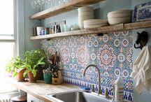 New home- kitchen! / by Fi Bluebellgray