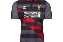 #LFC reveal brand new 2014-15 Warrior third kit / Check out #LFC's brand new third kit for the 2014-15 season, designed by Warrior Football. Pre-order now for guaranteed worldwide delivery on July 22: http://store.liverpoolfc.com/kit/third-kit/ #DEMAND / by Liverpool FC