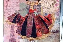 Art: Mixed Media / Artwork using mixed mediums/media such as collages, canvas works etc.  / by ★Cassie MewBuorn★