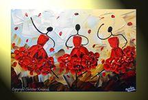 paint / by Erestina Jaupi