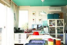 Studio Space Inspiration / by Amy Moore