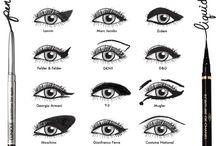 Eye makeup  / by Summer Barnum
