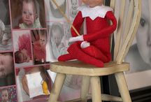 Elf on the shelf ideas / by Susan Greathouse Slade